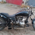 my custom Dnipro motorcycle
