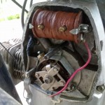 a standard ignition system of a Dnipro