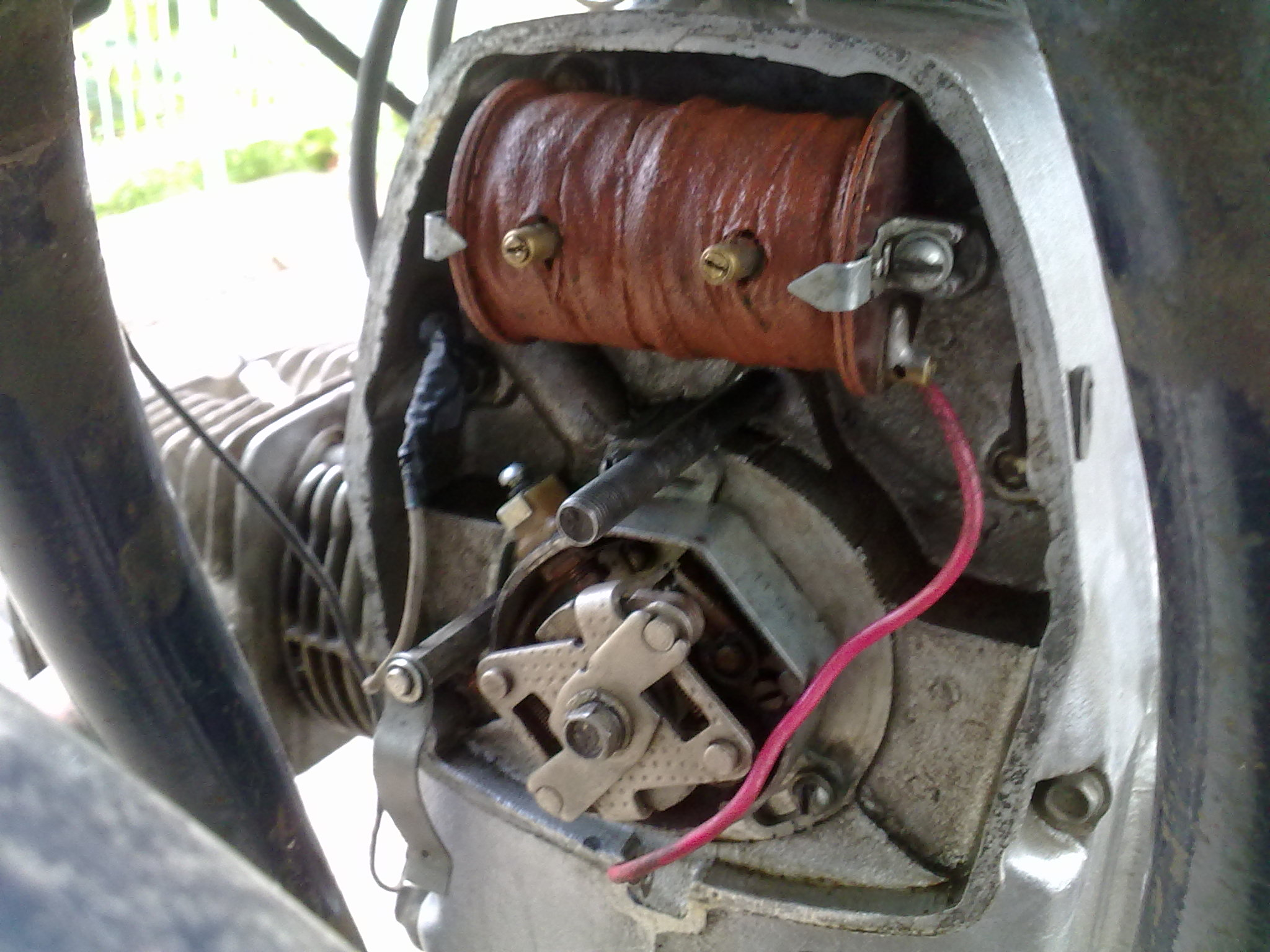 Ural Engine Diagram Wiring Library You Need To Open The Ignition Cover At Front Of Find