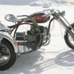 a unique sidecar made for the Irbit Mirage