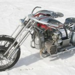another view on a custom M72 with a sidecar