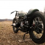 another photo of the Ural racer