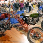 the Ural racer during the the Timonium Bike show