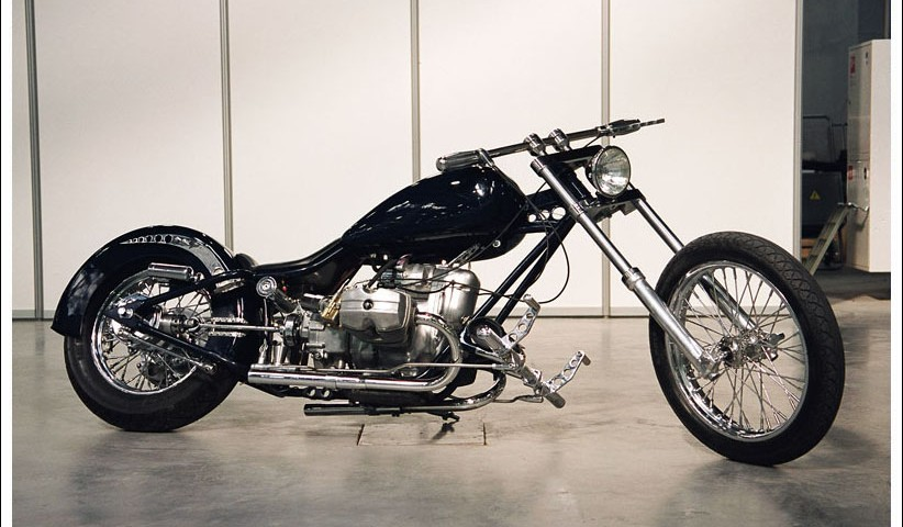 another great custom Ural chopper