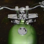 the gas tank installed on the June Bug