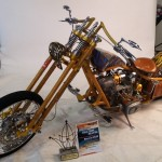a custom chopper made from a Dnipro MT