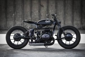 the right side of this custom Ural
